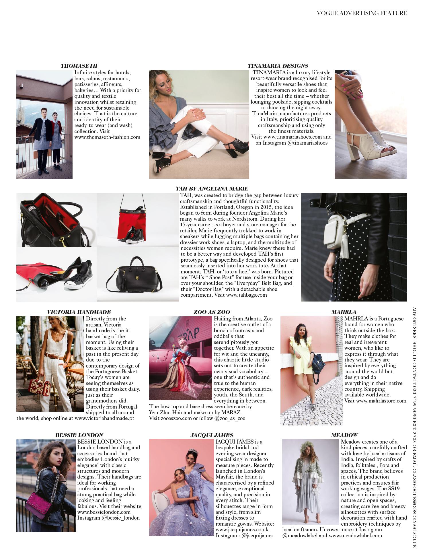 British Vogue August